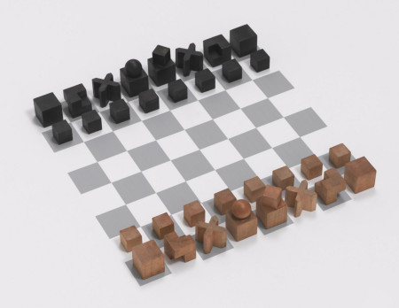 The Bauhaus Chess Set