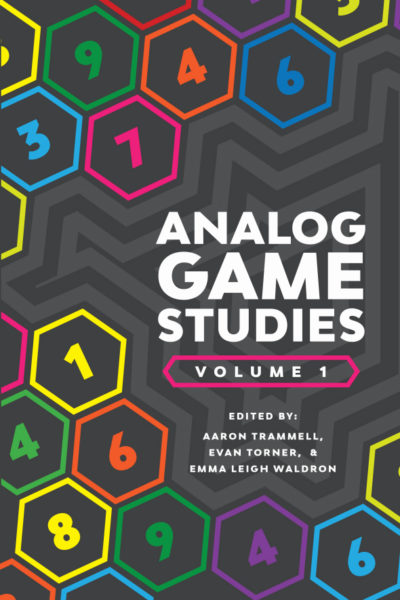 Analog game studies vol 1